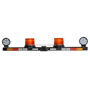 Reversing Alarm Amber Beacon Turning Brake Work light Full Function LED Warning Mine Light Bar For Pick-up Truck