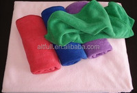 Quick dry Nano superfine 85%polyester and 15%polyamide microfiber nano fiber bath towel specification