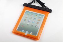 IPX8 Universal Waterproof Sandproof Shockproof Carrying Bag Case Pouch for 9.7-10.2 Tablets for iPad Mini for Samsung galaxy Tab