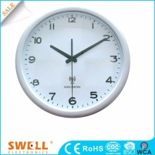 white custom wall clock dial