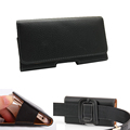 Customized Bags For Men Leather Flip Cover With Belt Clip Universal Case For Doogee