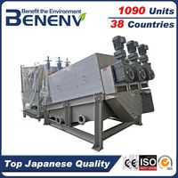 MDS413 Save Energy Stainless Steel Palm Oil sludge Dewatering