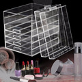 Large Clear 6 Tier Drawers Acrylic Makeup, Cosmetic & Jewelry Organizer