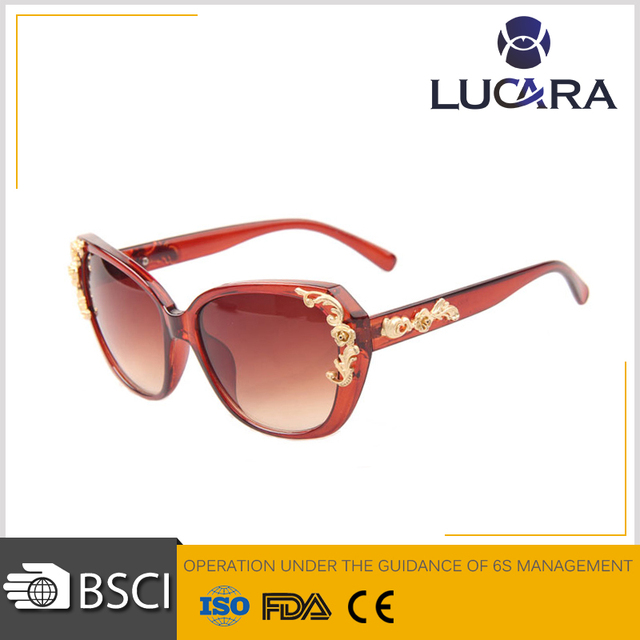 Women Polarized Sunglasses big frame UV400 Sunglasses butterfly temple driving glasses