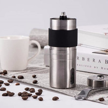 Original Hand Manual Coffee Grinder for Iced Cold Brew Espresso French Press Stainless Steel Ceramic Conical Burr Design