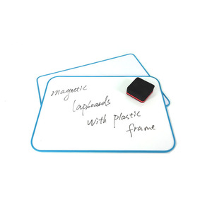Wholesale Plastic Frame Small Magnetic White Board Portable Dry Erase Lapboard Kids Writing & Drawing Gift Set