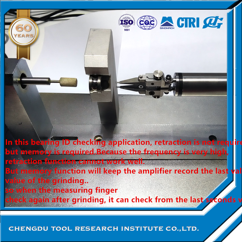 GRINDING GAUGE FOR EXTRA SMALL DIAMETER GRINDING MACHINE