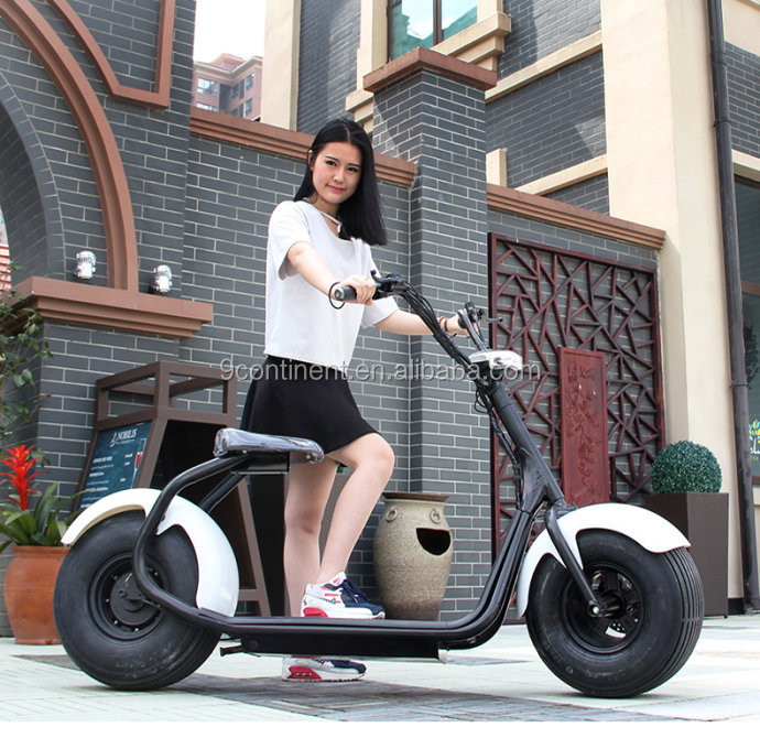 2018 new product hot sales smart big wheel electric bike with led light