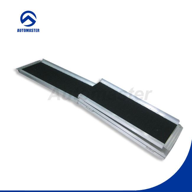 600lbs Aluminio Plegadora Rampas Para Discapacitados Con