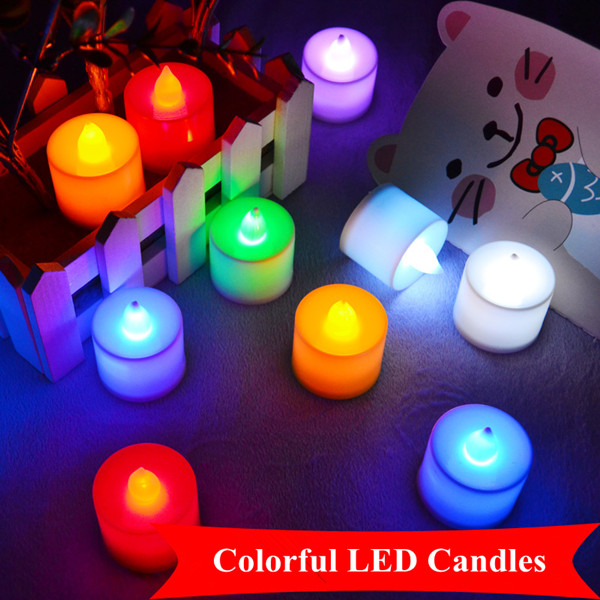 Flexible flameless LED Candles big size windproof