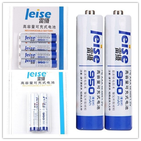 Leise High Quality Nimh 1.2v Aaa Rechargeable Battery
