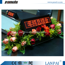 indoor factory price high quality multi-language LED p20 xxx video bank sign board TC1696R