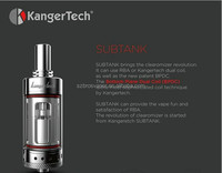 Mini Protank 3 and Aerotank Mini , RBA kanger subtank mini Kangertech Evod 2 Starter Kit