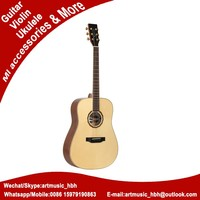 solid spruce acoustic guitar of japanese musical instruments