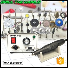 35000 rpm strong 90 / 102L high speed micro motor handpiece nail art machine tools