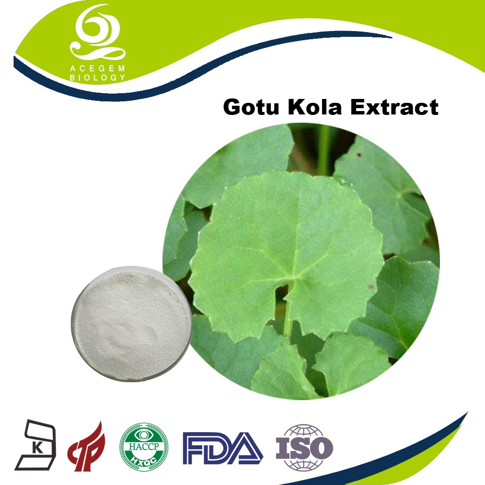 organic Centella Asiatica Extract Asiaticoside White powder