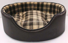Luxury dog bed With Dual Using Cushion Washable Pet Dog House