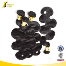 honey blonde color #2 peruvian remy hair body wave hair weaving