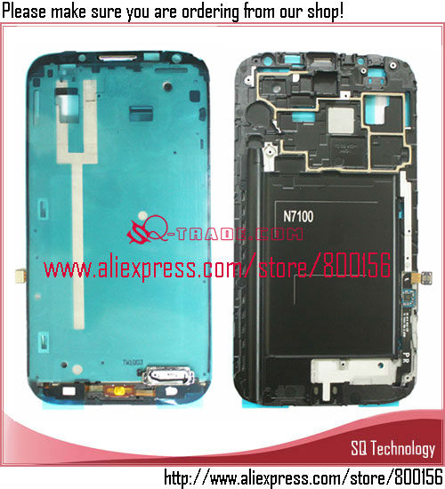 For Samsung For Galaxy Note 2 N7100 Middle Housing Bezel Frame
