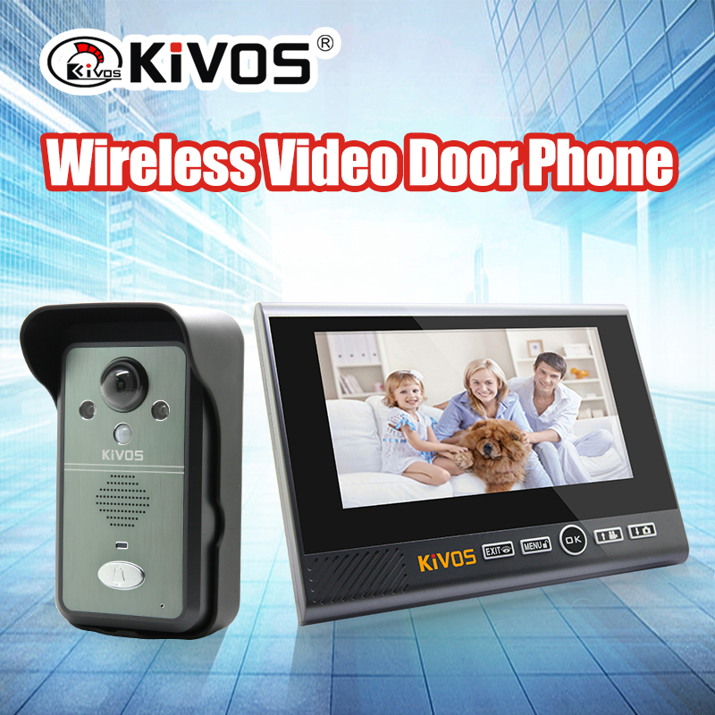 Video intercom doorbell KIVOS wireless video door phone interphone KDB700