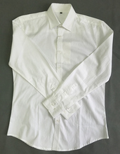 white color fashion dress plain shirts for men