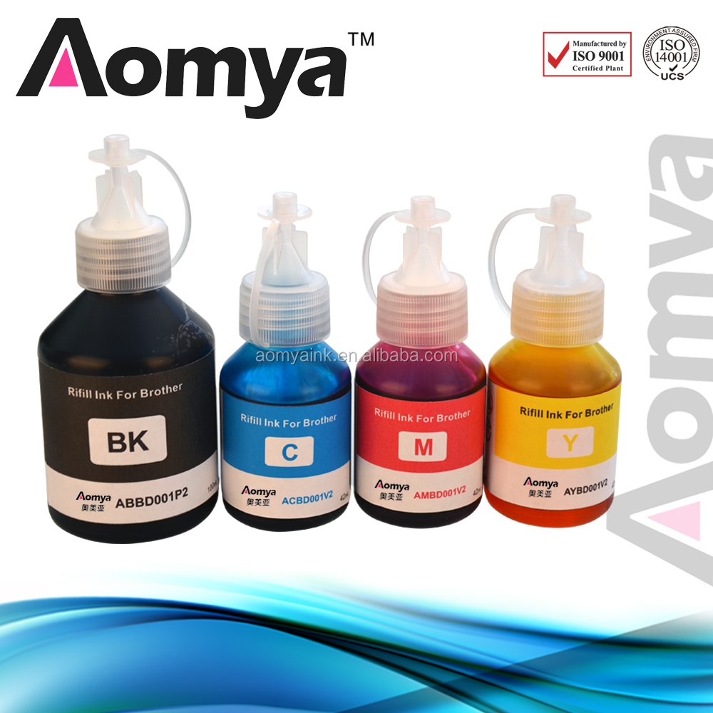 Hot sale dye ink for brother t300 t500 t700 printer inkjet ink