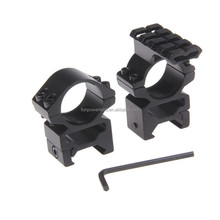 Funpowerland 25.4mm High Profile See Through Scope mount with top extended rail