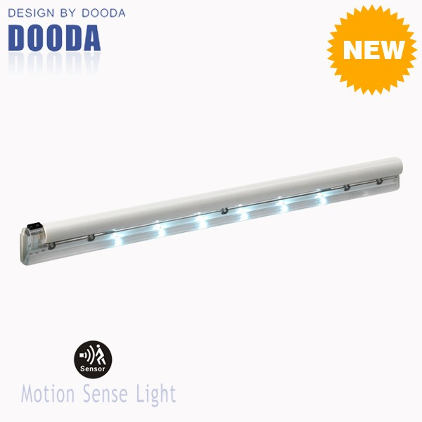 New China Battery Operated 6PCS LED Strip Auto Sensor Light With Wall Mounted For Wardrobe And Drawer