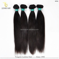 Hot New 100% Human Hair Weave Top Quality No Shedding No Tangle Full Cuticle Can Be Dyed thread hair extensions