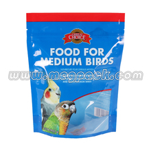 one-side foil aluminium zipper bag/one-side clear Resealable stand up zipper bag/doypack pouch with ziplock packaging
