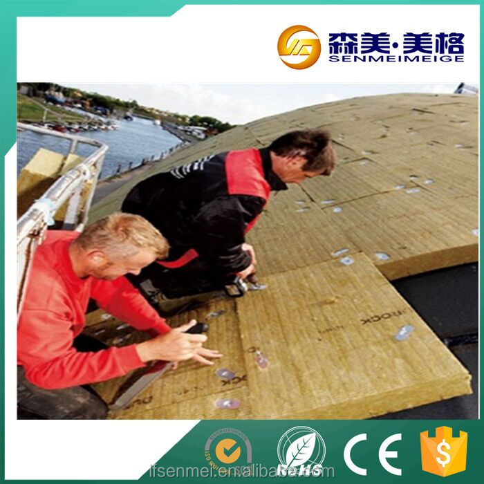 Rock wool cellulose insulation spray in ceiling wool system