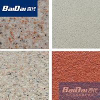 Baidai Water Based Acrylic Resin Sand Texture Paint