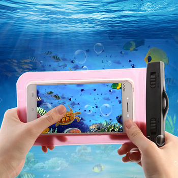 Waterproof Bag Case for 5.5inch mobile phones with Strap
