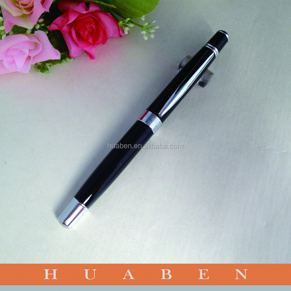 Huaben metal ballpoint pen ,personalized pen holder,inkless metal pen