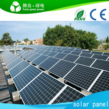 OEM 320W 330W 350W Photovoltaic Solar Panel 4BB Black Mono Solar Panels