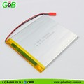 high energy density polymer battery 265085 2000mah with 3.7voltage
