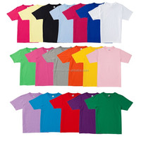 Small MOQ cheap price 100% cotton plain t shirt in stock men t shirt