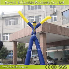 Promotional inflatable rose air dancing for advertising