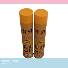 750ML Fire Proof Spray Foam Insulation Factory Supplier