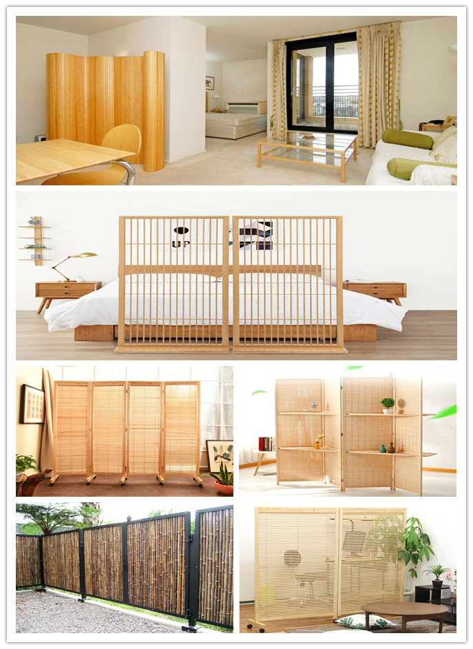 14-20mm High straightness bamboo fence
