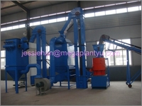 Best quality wood pellet production line for sale with capacity of 1T per hour