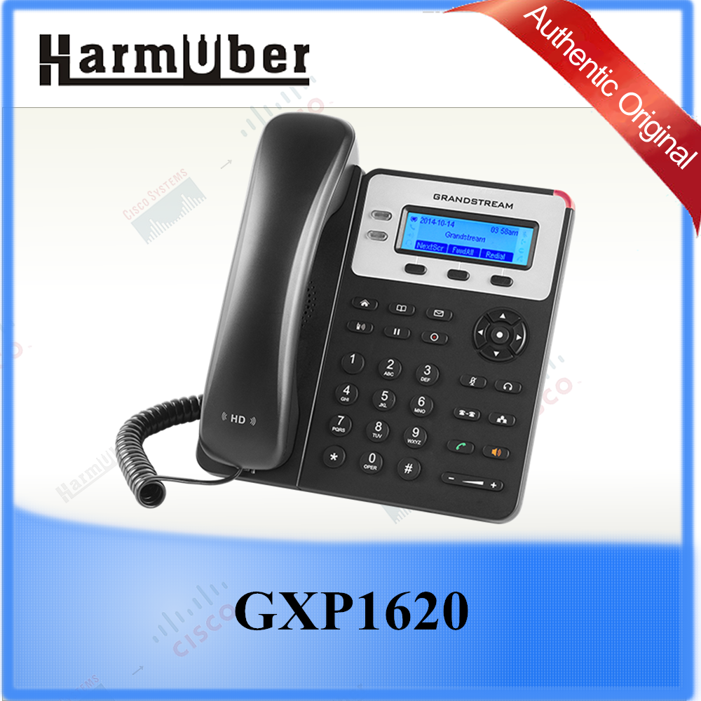 HD Audio on Speakerphone and Handset Grandstream GXP1625