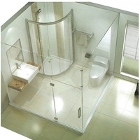 china stainless steel square shape european design bathroom shower