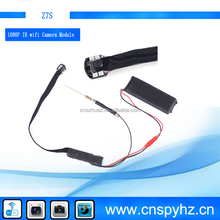 Hot New item H.264 1080P spy gadgets hidden wifi camera module for IOS , Android with Strong IR night vision camera DVR