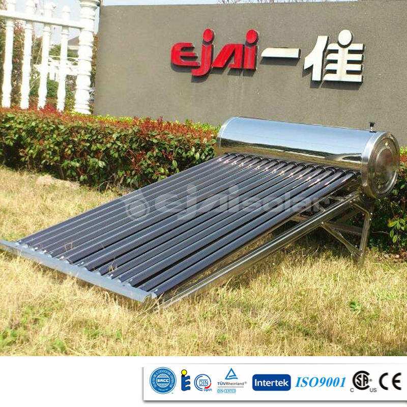 58/1800 Tubo a vide 200 litre South America popular calentador de agua solar best price and best quality