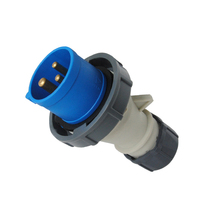Industrial plug IP67 CE certification waterproof CEE industrial plug 16A,200-250V~2P+E/6h