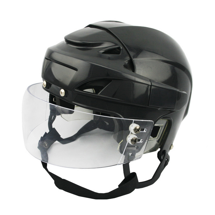 CE certificate Low Price Ice Hockey Helmet With Clear Visor For Beginners