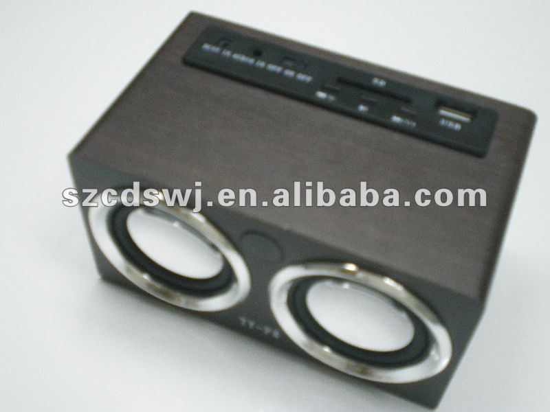 Classical Radio Shape Mini Speaker