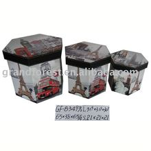Custom Order Polygon Shape Small Container Sundries Use Box