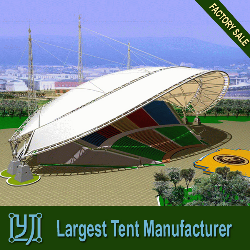 rain proof big music festival marquee tents exported to Ghana